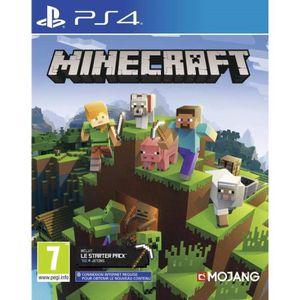 JEU PS4 Minecraft Jeu PS4 + 2 LED Light Bar Skin