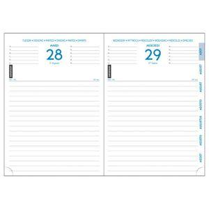 AGENDA - ORGANISEUR EXACOMPTA Agenda Journalier 12 x 17 cm Septembre à