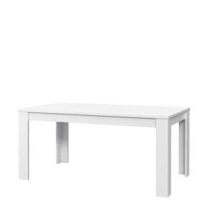 TABLE À MANGER SEULE KOVA Table à manger 6 personnes contemporain blanc