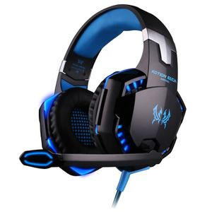 CASQUE AVEC MICROPHONE Gaming Casque Micro Casque Filaire PC PS3 Xbox One