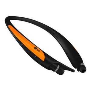CASQUE - ÉCOUTEURS Casque Bluetooth LG orange Tone Sport