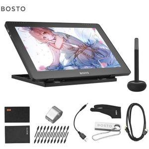 TABLETTE GRAPHIQUE BOSTO 16HDK Tablette Graphique Portable 15,6 pouce