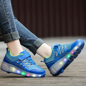 CHAUSSURE TONING Monoroue Heelys Chaussures LED Lumière Lumineux Ch