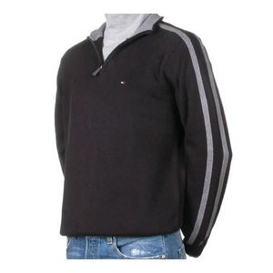 PULL Pull hiver Tommy Hilfiger Noir