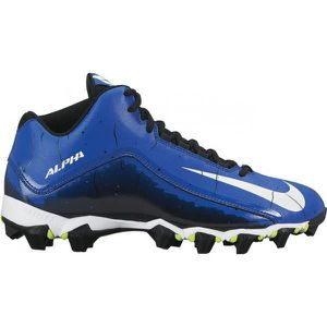 lowest price dfa49 27678 Crampons de Football Americain Nike Alpha Shark 2 3 4 Bleu