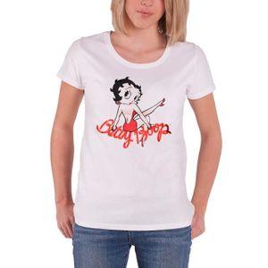 T-SHIRT Betty Boop T Shirt Classic Pose nouveau officiel F