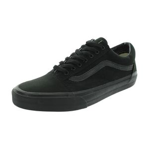BASKET VANS VN-0D3HBKA hommes: Old Skool Black Canvas Ska