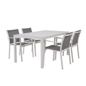 Salon de jardin aluminium Rotin-design - Achat / Vente Salon ...