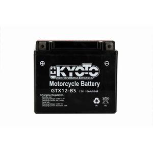 BATTERIE VÉHICULE KYOTO - Batterie moto - Ytx12-bs - L150mm W87mm H