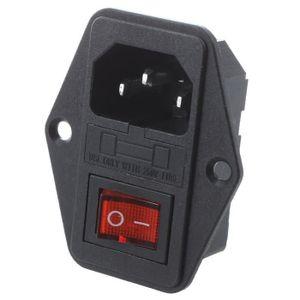 Compte /à rebours et Piquet GAO emp7/01md Double Prise de Courant avec Interrupteur cr/épusculaire ext/érieur