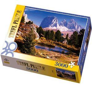 PUZZLE Puzzle 3000 pièces - Les Dolomites