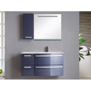 Ensemble de salle de bain NEREIDE - meubles + vasq - Achat ...