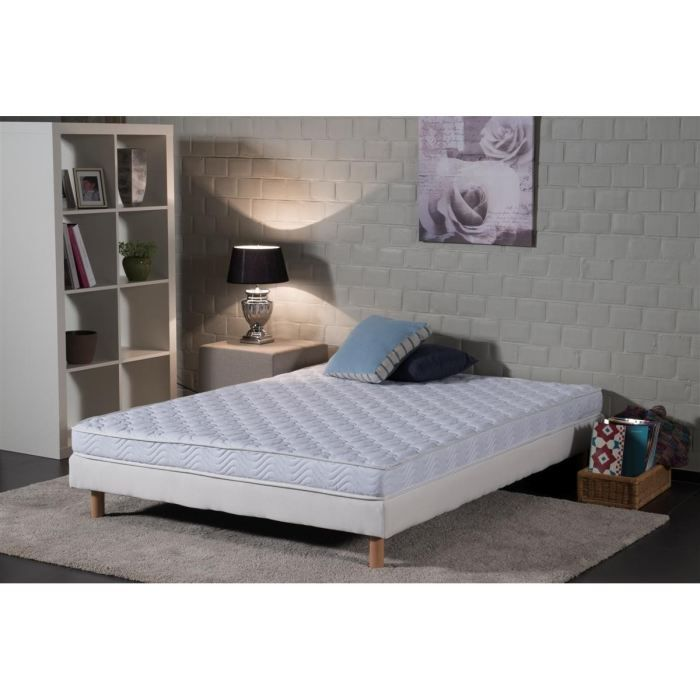 deko dream matelas vosges 140x190 cm mousse tr s ferme 30 kg m3 2 personnes achat. Black Bedroom Furniture Sets. Home Design Ideas