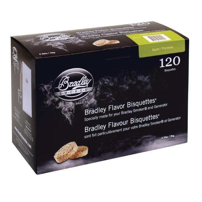 Bradley d'Apple Pack Bisquettes 120
