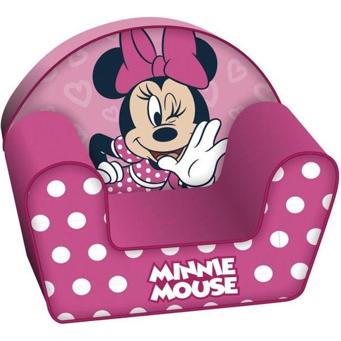 Disney Minnie Mouse Fauteuil Club en Mousse pour Enfant