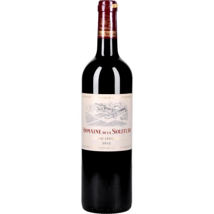 Vin Rouge - Domaine de la Solitude 2012 - Bouteille 75cl