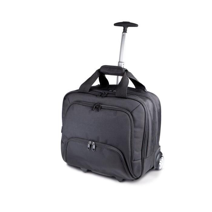 Sacoche - valise - trolley pour ordinateur portable - KI0904 - noir