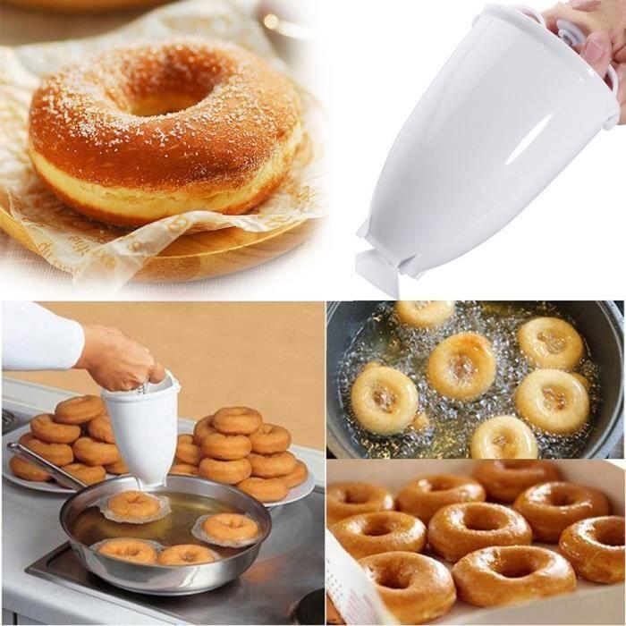 Outils boulangerie et pâtisserie,Machine à faire des donuts en plastique Moule, bricolage, outil de cuisine, pâtisserie, ustensiles
