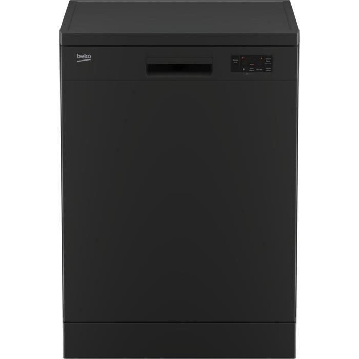 BEKO - DFN15320A - Lave-vaisselle - Pose libre - 13 couverts - 47dB(A) - A++ - L60 cm - Anthracite
