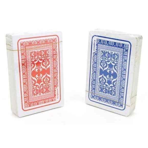 lot de 2 jeux de 54 cartes -DELUXE