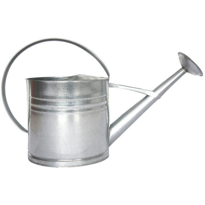 Esschert Design arrosoir décoratif 62,5 cm zinc 10 litres argent