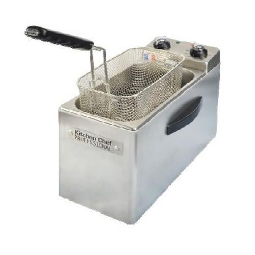 KitchenChef KCFR4L, 4 L, 190 °C, 30 min, Unique, Acier inoxydable, Rotatif