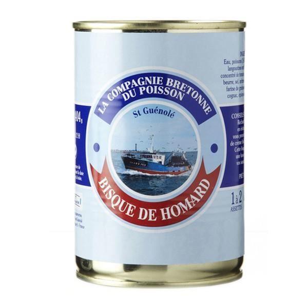 Bisque de homard, Boîte 404 gr