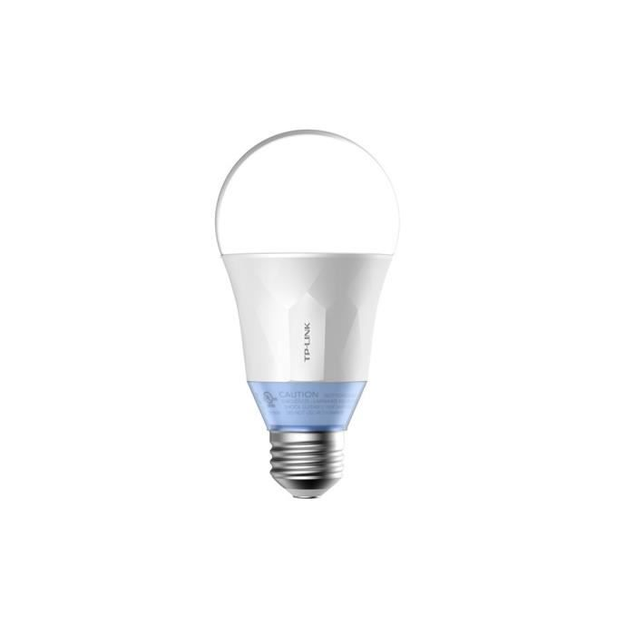 TP-LINK Ampoule LED LB120 connectée Wi-Fi E27 60 W avec lumière blanche personnalisable