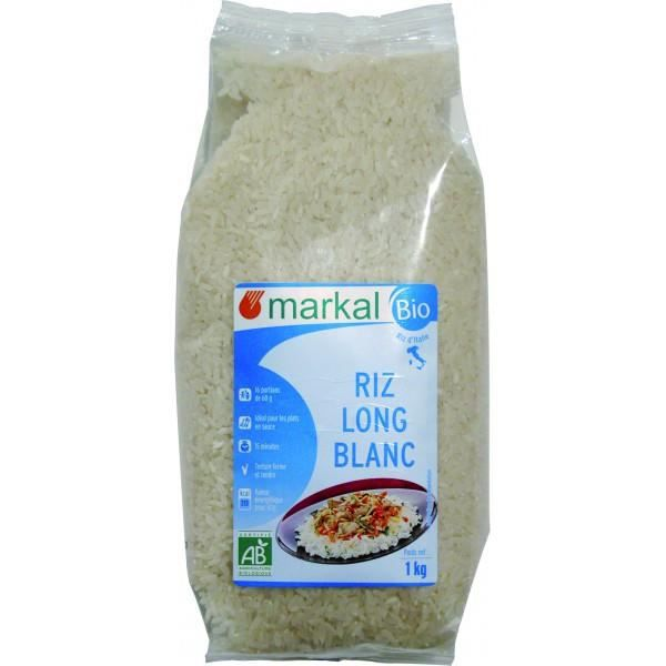 Riz long blanc Italie, Markal