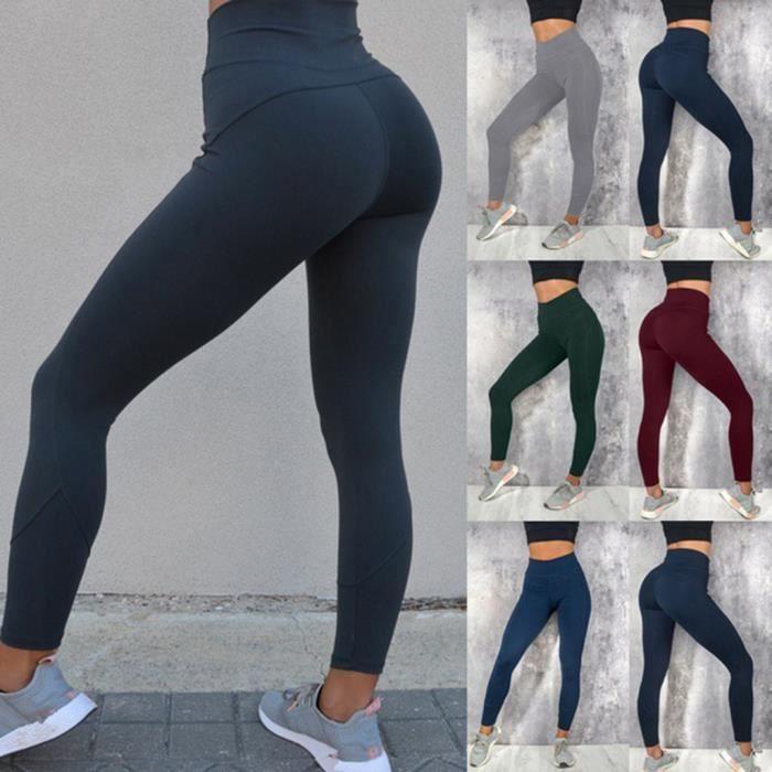 Ensemble de yoga pour femmes Yoga Pantalons de sport et de soutien-gorge Leggings Combinaison de running LLI90403003BK_812