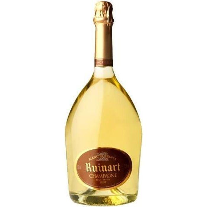 3x Ruinart Blanc de Blancs Magnum - Champagne AOC