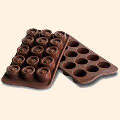 Moule silicone 15 chocolats Vertigo