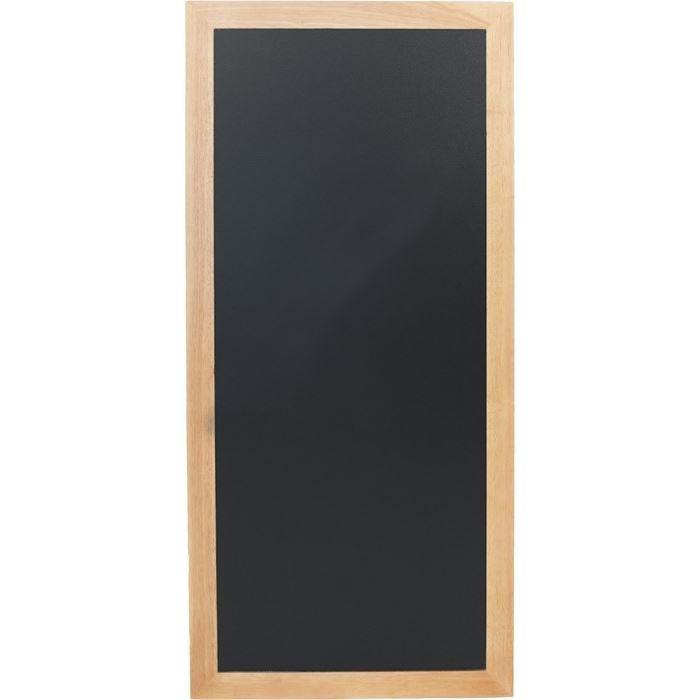 Ardoise longue à fixer, 120 x 56 cm Teck