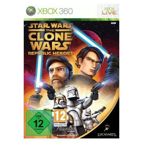 JEUX XBOX 360 Star Wars : Clone Wars - Republic Heroes [impor…