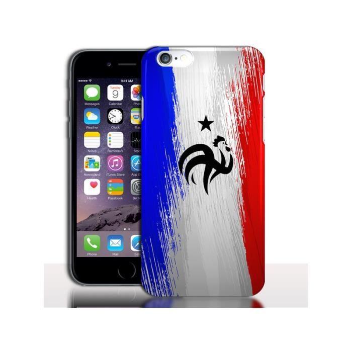 Coque iPhone 6 Plus FootBall Equipe de France - Accessoire de ...