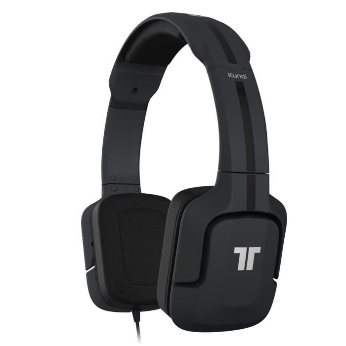 tritton kunai casque micro pc mobile noir prix pas cher cdiscount. Black Bedroom Furniture Sets. Home Design Ideas