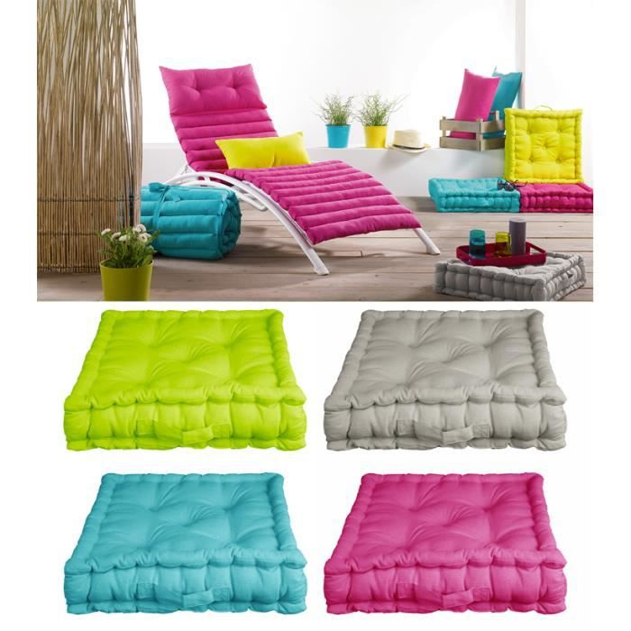 coussin de sol garni 45 x 45 cm x 10 cm pac achat vente coussin cdiscount. Black Bedroom Furniture Sets. Home Design Ideas