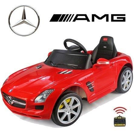 voiture electrique radiocommande enfant mercedes amg rouge. Black Bedroom Furniture Sets. Home Design Ideas