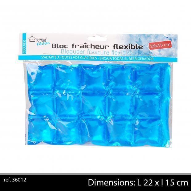 en couleur Pliable Glacière avec revêtement en aluminium 36 cm x 23 cm x 22 cm