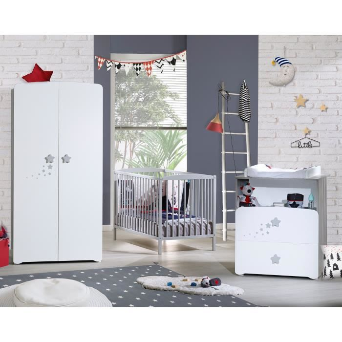 baby price new nao chambre b b compl te lit barreaux. Black Bedroom Furniture Sets. Home Design Ideas