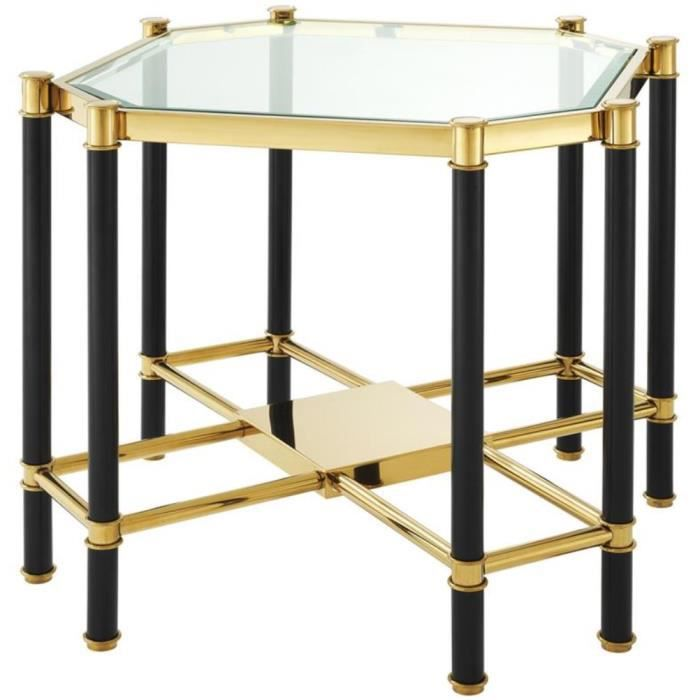 Les tables d/'appoint rectangulaire luxe table Table basse Vert Or