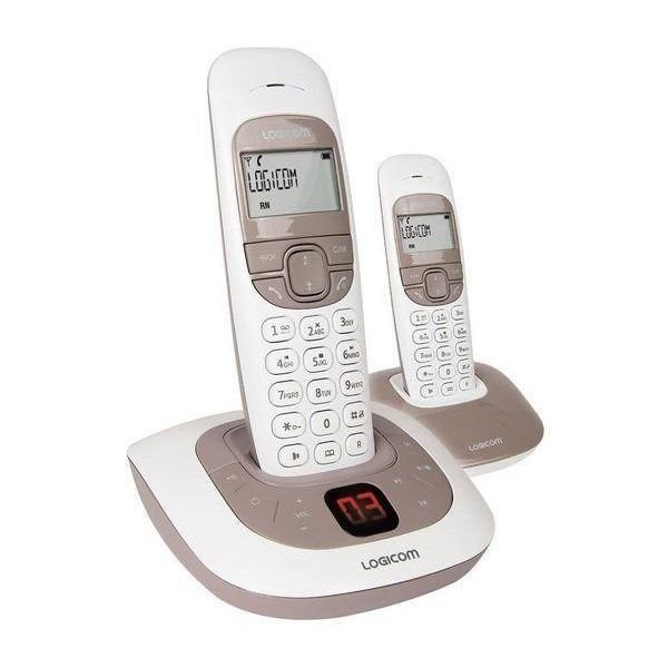logicom t l phone r pondeur dect soly255t deco achat. Black Bedroom Furniture Sets. Home Design Ideas