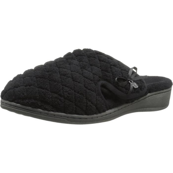 Adilyn Round Toe Canvas Slipper M89SK Taille-43