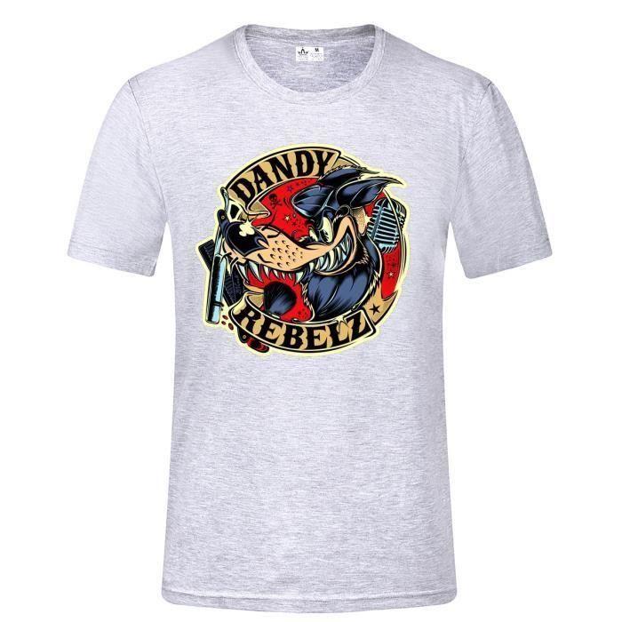 Dandy Rebelz Rockabilly T Shirt Rock N Roll