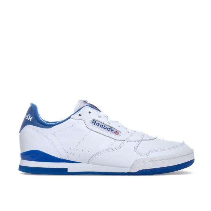 pretty cool official better Reebok Classics Baskets Phase 1 84 Archive Blanc Bleu Homme Blanc ...