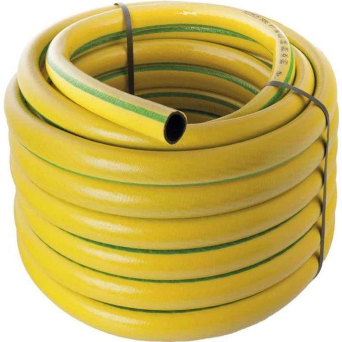 """3 couches-renforcé tuyau de jardin tuyau-FLEXIBLE pour l/'eau économique 1//2 /"""" 20m"""