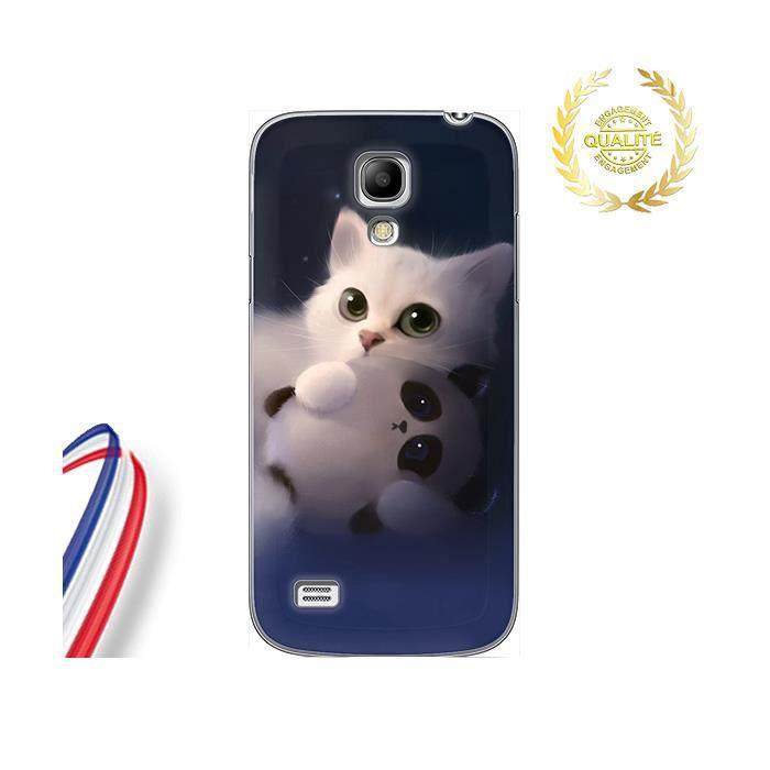Coque Samsung Galaxy S4 mini Bebe Chat Love Panda - Cdiscount ...