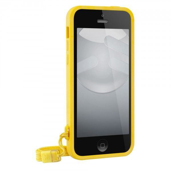 coque switcheasy play pour apple iphone 5c jaune achat. Black Bedroom Furniture Sets. Home Design Ideas
