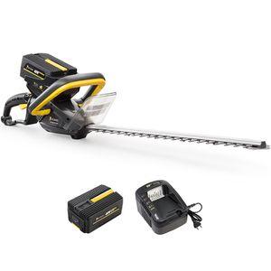 TAILLE-HAIE Taille-haies sans fil à batterie, 40 V, GT ELEC +