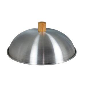 Dexam Swift Spice W 30 x D 12 x L 54 Wok en aluminium couvercle